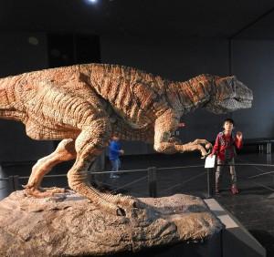 こちらも動く恐竜!!